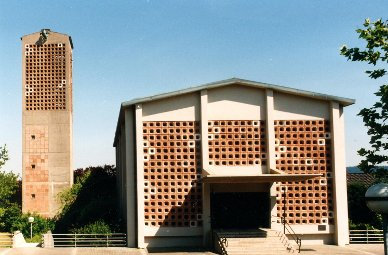 Matthäuskirche - Ansicht von Westen Quelle: Matthäusgemeinde